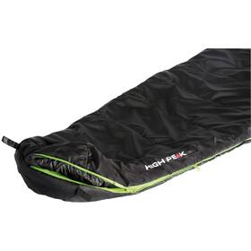 High Peak Black Arrow - Sac de couchage - gauche vert/noir